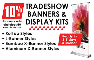 Tradeshow Banners & Display Kits Banner