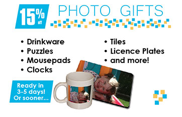 Photo Gifts Banner