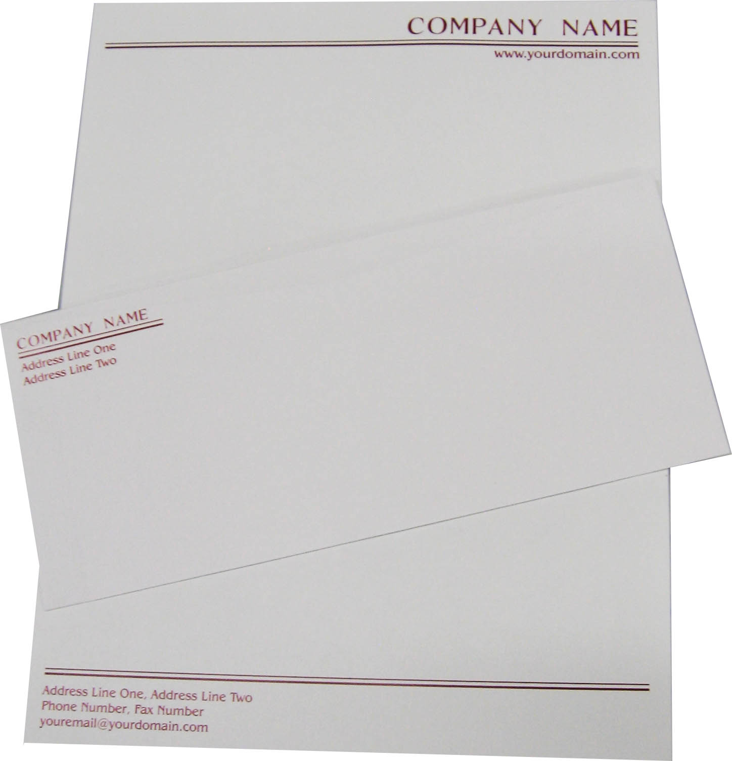 Letterhead/Envelope Layout