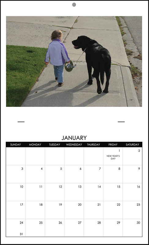 Saddle Stitch Calendars